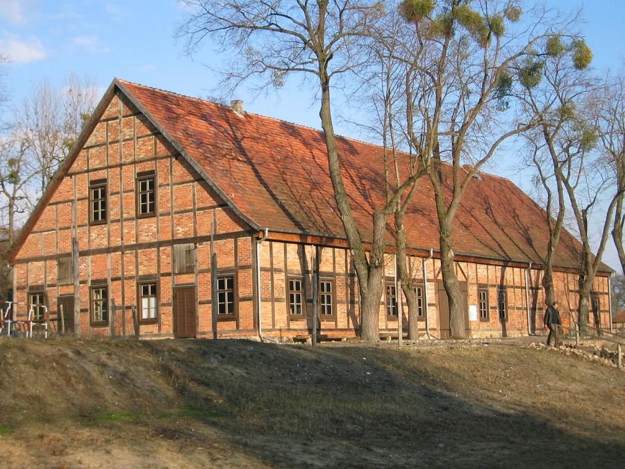 Fachwerkhäuser in Foto 2590: Glashütte in Baruth/Mark - Reiseführer ...