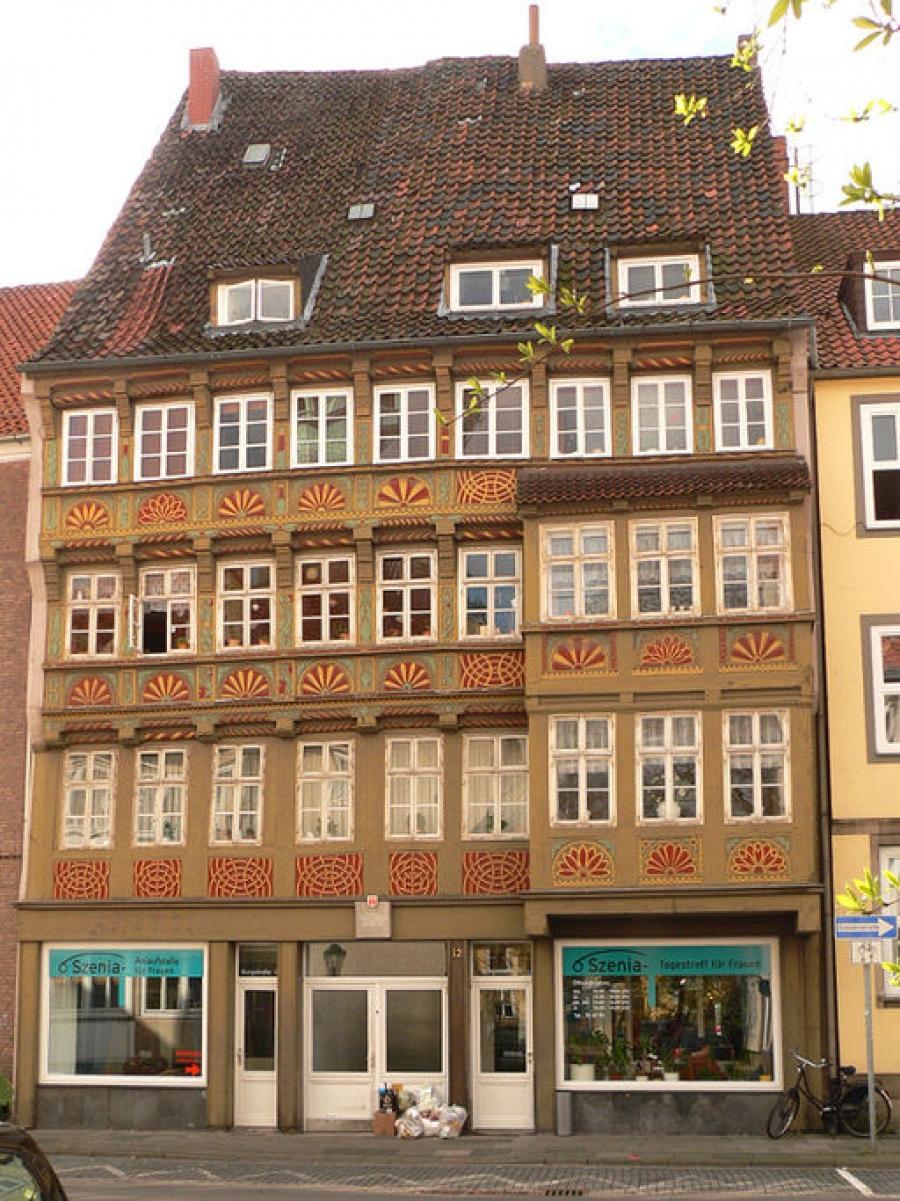 Fachwerkhäuser in Burgstraße 12 (Hannover) - Reiseführer für ...
