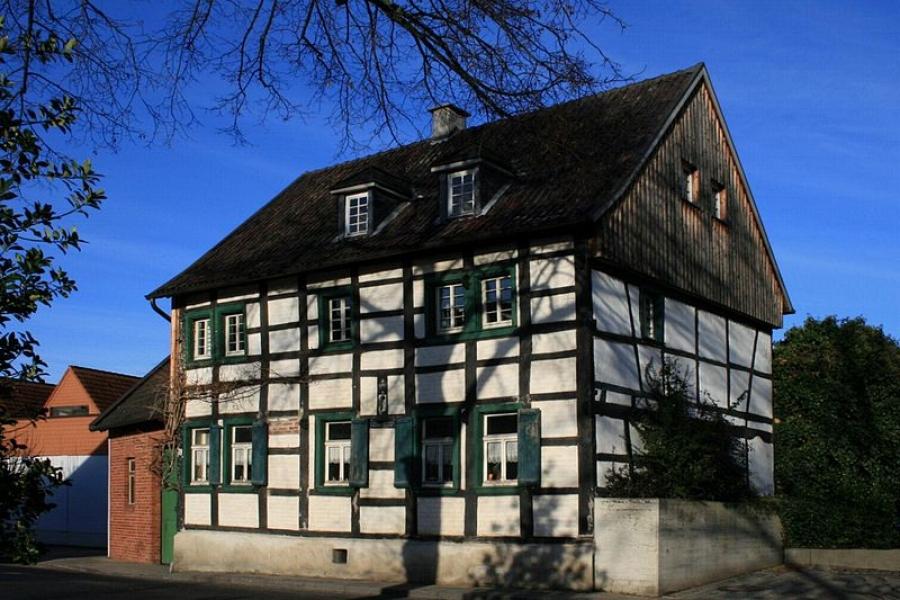Fachwerkhäuser in Foto 1188: Fachwerkhaus von 1784 in Merzenich ...